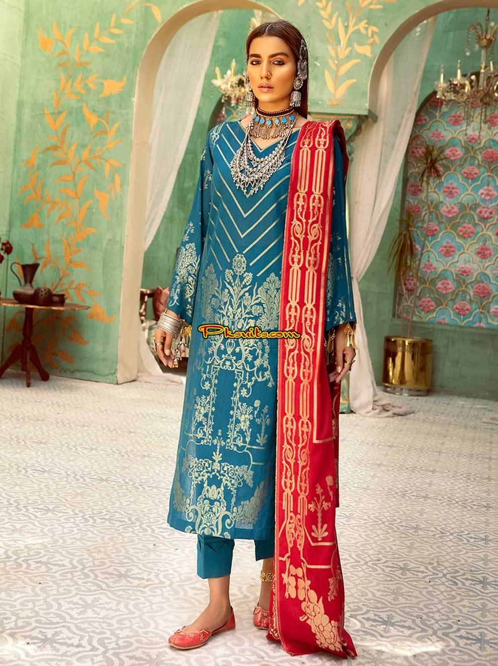 NUR Jacquard Eid Kay Rang 2021   Pakistani Latest Fashion ...