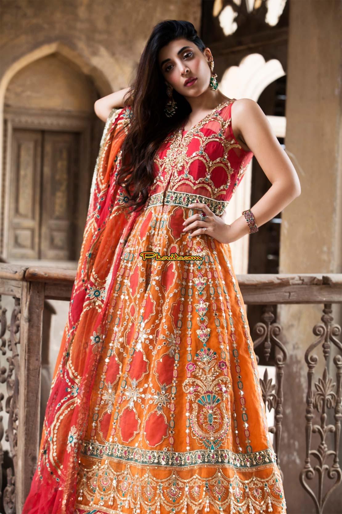 Pakistan Maria B Saira Rizwan 2018 Bridal Latest Collection Shalwar Kameez Suit